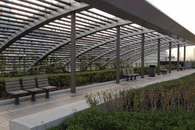 Rooftop Garden Sitting Area